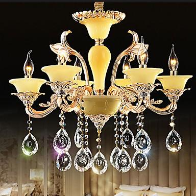 European Crystal Pendant lamp - Zinc Alloy Crystal Pendant lamp