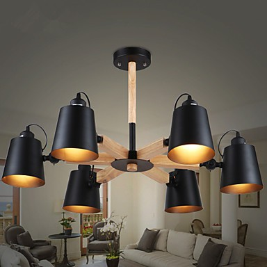 Chandeliers LED / Mini Style Modern/Contemporary Living Room / Dining Room / Study Room/Office / Game Room Metal