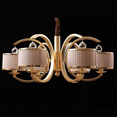 40w Modern/Contemporary Bulb Included Bronze Metal Chandeliers Living Room / Bedroom / Hallway