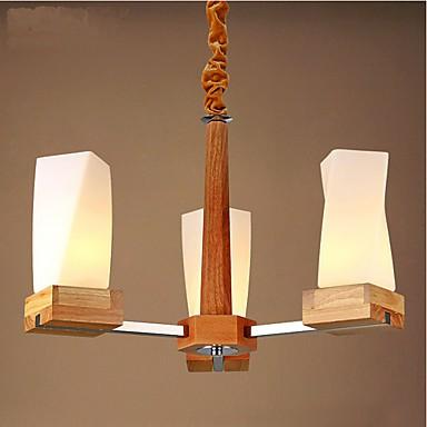 Simple Art lighting Solid wood Creative Iiving Room Ceiling lamp