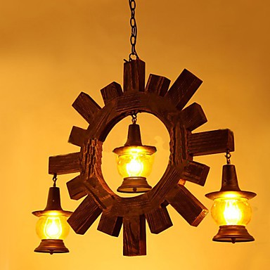 Antique wood chandelier american country iiving room lamp lamp antique wood chandelier american country iiving room lamp lamp restaurant aloadofball Choice Image