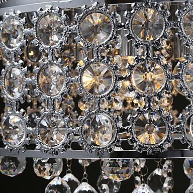 4 Lights-Sunflower K9 Transparent Crystal Chandelier