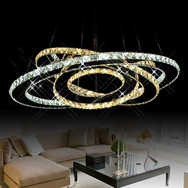 LED Crystal Pendant Lighting Ceiling Chandeliers Light