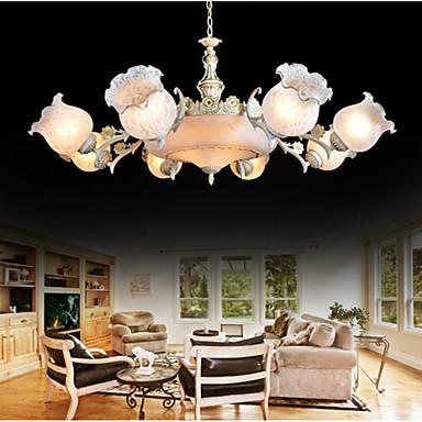 Chandeliers, Traditional/Classic/Vintage/Retro Living Room/Bedroom/Dining Room/Study Room/Office/Hallway Metal