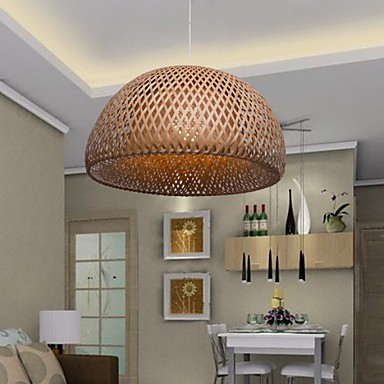 12W Vintage LED Creative Home Bamboo Chandeliers Living Room / Bedroom