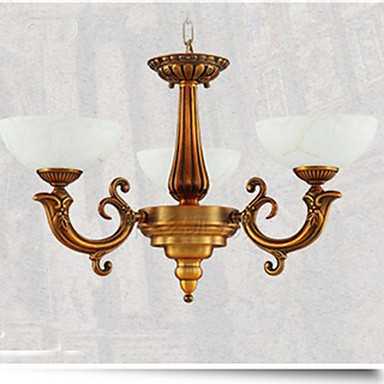 The New Chinese Style Marble lamp Chandelier Full Copper lamp Chandeliers