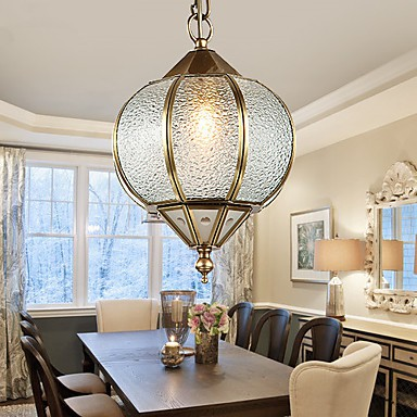 Pendant Lights Crystal Mini Style Traditional Classic