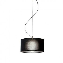 60W E27 Pendent Light with Black Shade