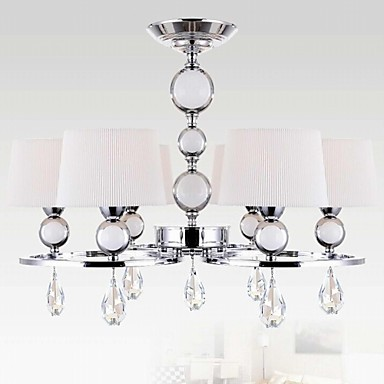 40w Modern/Contemporary Crystal Chrome Metal Chandeliers Bedroom / Dining Room / Study Room/Office / Hallway