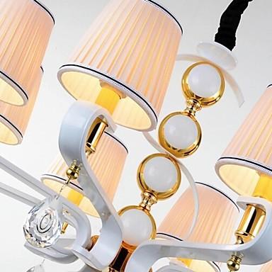 New Fabric Chandelier 5 Light Modern Minimalist High-Grade Lamp 110V or 220V