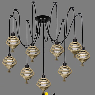 The Nordic Country Retro Honeycomb Chandelier Chandelier lamp The Heavenly Maids Scatter Blossoms. personality