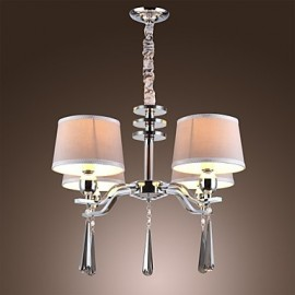 40W Modern/Contemporary / Traditional/Classic / Rustic/Lodge / Vintage / Island Crystal Chrome Metal ChandeliersLiving Room / Bedroom /