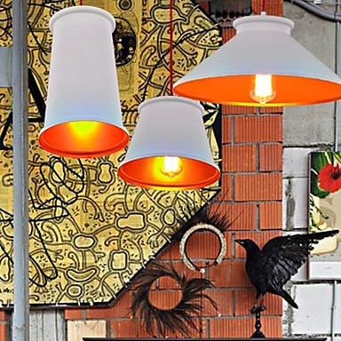 Chandeliers Mini Style Modern/Contemporary Living Room/Bedroom/Dining Room/Study Room/Office Metal 3 Light Pendant Light