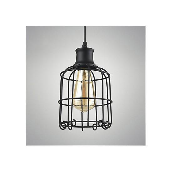 Edison Vintage Light Pendant Lamp Fixture Chandelier Cage ...