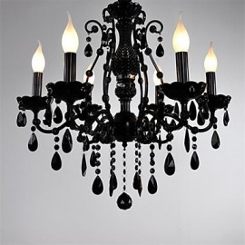 Maximum 60 W Modern/Contemporary / Traditional/Classic / Country / Globe Crystal / Mini Style Others Metal ChandeliersLiving Room /