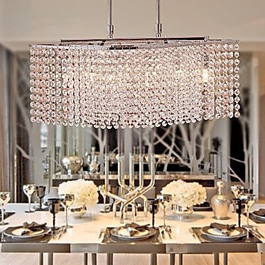 Chandeliers Crystal Modern/Contemporary Living Room/Bedroom/Dining Room/Study Room/Office Crystal