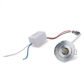 1W 1 High Power LED 100 LM Warm White LED Ceiling Lights AC 85-265 V