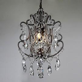 Modern Chandelier New Design Vintage Chandelier Loft Crystal Light Fixture Lustre Hallway Hanging Lamp
