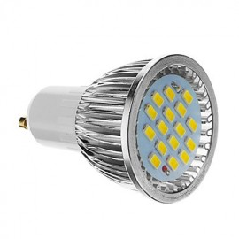 6W GU10 LED Spotlight 16 SMD 5730 640 lm Cool White AC 85-265 V
