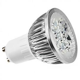 4W GU10 LED Spotlight MR16 4 High Power LED 360 lm Warm White Dimmable AC 220-240 V