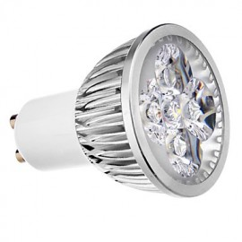 GU10 4W 4 LM Cool White MR16 LED Spotlight AC 220-240 V