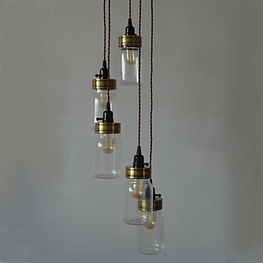 The North American Country Style Of american Art Bottle Chandelier