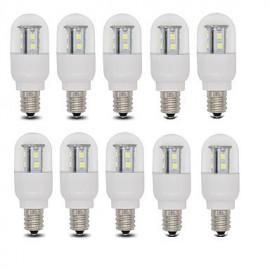 3W E14 / E12 LED Globe Bulbs T 15 SMD 2835 385 lm Warm White / Cool White AC 110 / AC 220-240 V 10 pcs