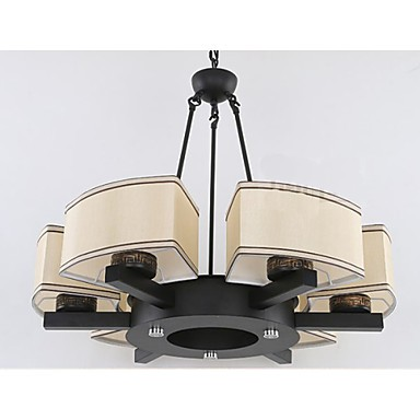 The New Chinese Style Chandelier Iron Copper Imitation Air living Room Lamps B