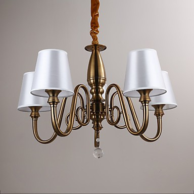 Chandeliers Modern/Contemporary Living Room/Bedroom/Dining Room/Study Room/Office Metal
