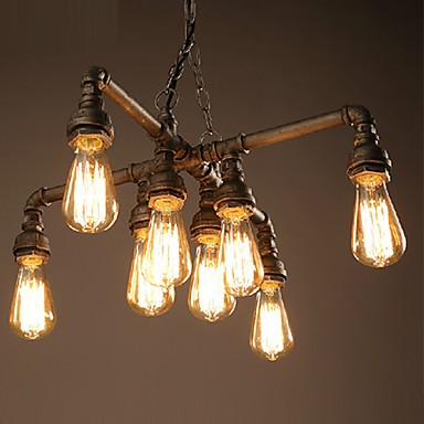 Chandeliers Modern/Contemporary/Traditional/Classic/Rustic/Lodge Living Room/Bedroom/Dining Room/Study Room/Office Metal
