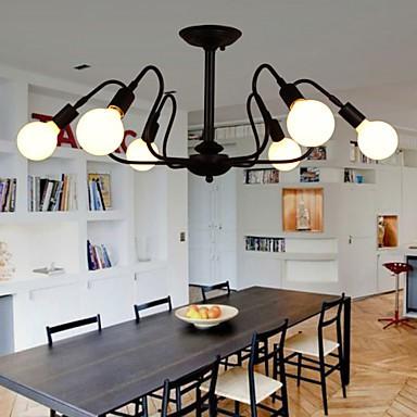 Loft American Vintage Ceiling Light Fashion Personality Bedroom Lights Bar Lights Iron Ceiling Lamp
