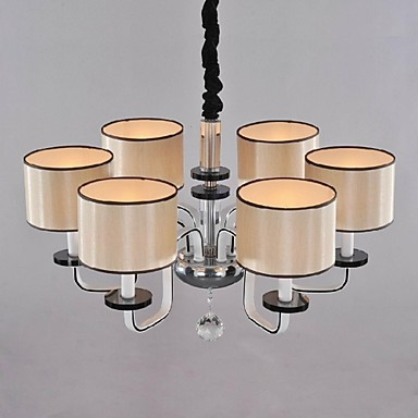 40W Modern/Contemporary Crystal Chrome Metal Chandeliers Living Room / Dining Room / Study Room/Office / Hallway