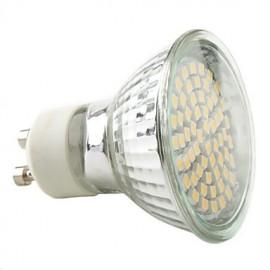 3W GU10 LED Spotlight MR16 60 SMD 3528 230 lm Warm White / Natural White AC 220-240 V