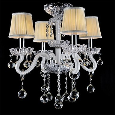 Crystal/Mini Style Chandeliers, Modern/Contemporary/Country/Globe/Traditional/Classic/Drum/Island Glass
