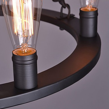Vintage Rope Pendant Lights Loft Creative Personality Industrial Lamp American Style for Living Room Decoration