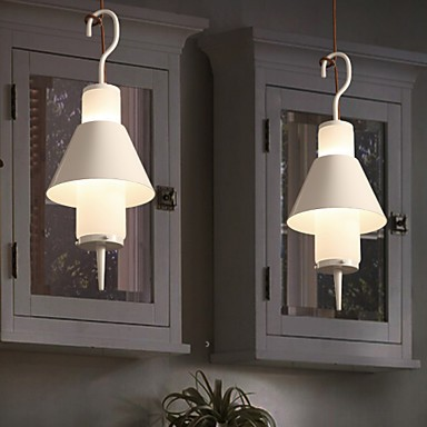 2 Light Mini Style Modern/Contemporary Living Room/Bedroom/Dining Room/Study Room/Office Metal Pendant Light