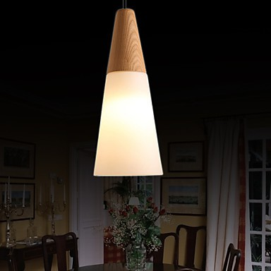 Chandeliers Mini Style Modern/Contemporary Living Room/Bedroom/Dining Room/Study Room/Office/Kids Room Wood/Bamboo