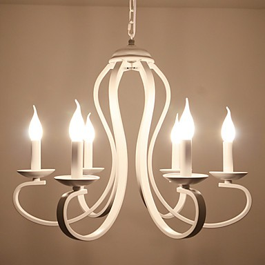 Chandeliers LED Modern/Traditional/Retro/Country Living Room/Bedroom/Dining Room/Study Room/ Metal