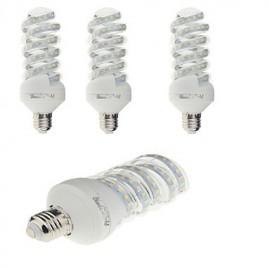 4PCS E27 20W 1800lm Warm White/White Light 47SMD 2835 LED Corn Lamps (AC 220V)