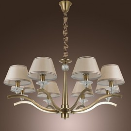 40W Modern/Contemporary / Traditional/Classic / Rustic/Lodge / Vintage / Country / Island Brass Metal ChandeliersLiving Room / Bedroom /