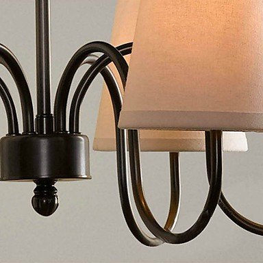 Max 60W Traditional/Classic Electroplated Chandeliers Living Room / Bedroom / Dining Room / Study Room/Office / Hallway