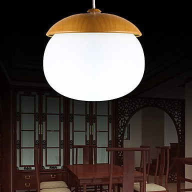 MAX 60W Modern/Contemporary Mini Style Wood/Bamboo Chandeliers Living Room / Bedroom / Dining Room / Kitchen / Study Room/Office
