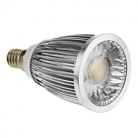 E14 5 W 1 COB 420-450 LM Warm White Spot Lights AC 85-265 V