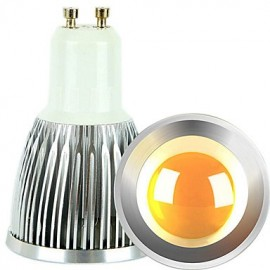 2PCS 5W GU10 LED Spotlight COB 600 lm Warm White / Cool White Dimmable AC 220-240 / AC 110-130 V