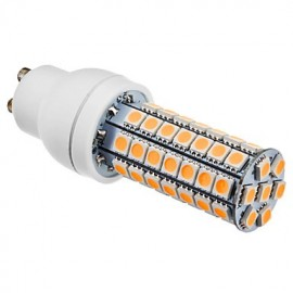 GU10 6W 63x5050SMD 510-550LM 3000-3500K Warm White Light LED Corn Bulb (220-240V)