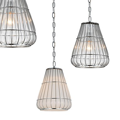 Modern/Contemporary Bulb Included Chrome Glass Chandeliers Living Room / Bedroom / Dining Room / Study Room/Office / Hallway