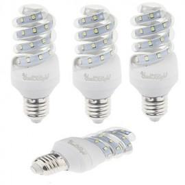 4PCS E27 9W 800lm Warm White/White Light 23 SMD 2835 LED Corn Lamps (AC 220V)