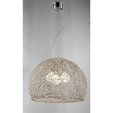 Chandeliers LED Lantern Living Room/Bedroom/Dining Room/Study Room/Office/Kids Room/Game Room/Hallway Metal