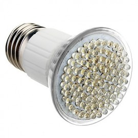 E27 5W 80-LED 320-360LM 6000-6500K Natural White Light LED Spot Bulb (230V)