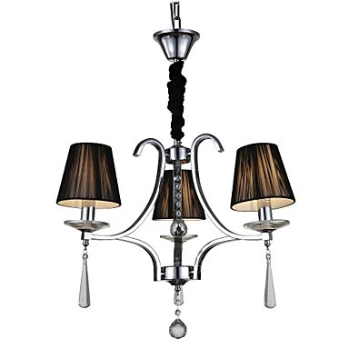 MAX 60W Modern/Contemporary Crystal Chrome Metal ChandeliersLiving Room / Bedroom / Dining Room / Study Room/Office / Kids Room / Game